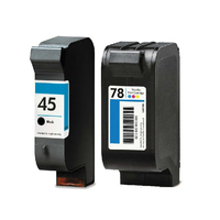 51645A C6578A For HP 45 78 Ink Cartridge For HP 45A 78A Deskjet 180 280 1220c
