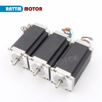 3PCS NEMA23 CNC stepper motor 112mm, 425 Oz-in, 3A CNC stepper motor stepping motor from RATTM MOTOR image