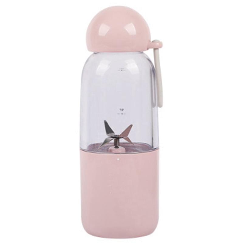 Ev Aletleri'ten Sıkacaklar'de Usb şarj taşınabilir elektrikli meyve sıkacağı Blender meyve bebek maması Milkshake mikser makinesi suyu üreticisi makinesi ev title=