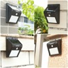 2018 LEDMO 4 Pack LED Solar Lamp 20Leds Waterproof Wall Light Solar Panel Movement Sensor Solar