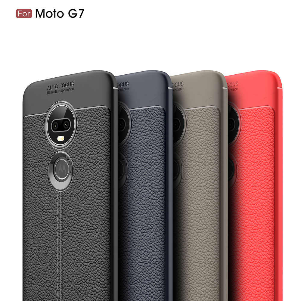 6.4For Moto G7 motorola kılıfı Moto G7 G8 artı oyun güç bir makro G7Play G7Power G7Plus G8Plus telefonu arka Coque kapak kılıf