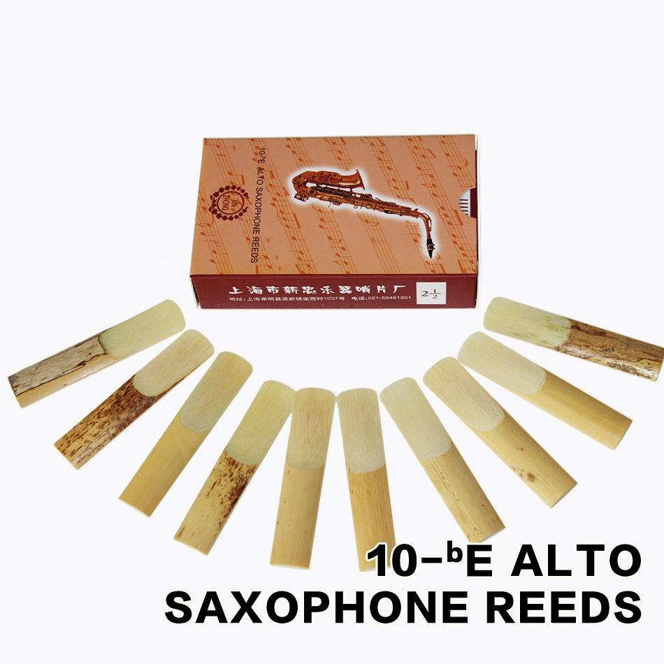 XINZHONG 2 1/2 bE Alto Saxophone Reeds Sax Saxfone Accessories 10pcs / box