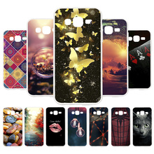 3D DIY Soft Silicone Case For Samsung Galaxy J2 Prime Coque Grand Plus Covers Painted Back Fundas