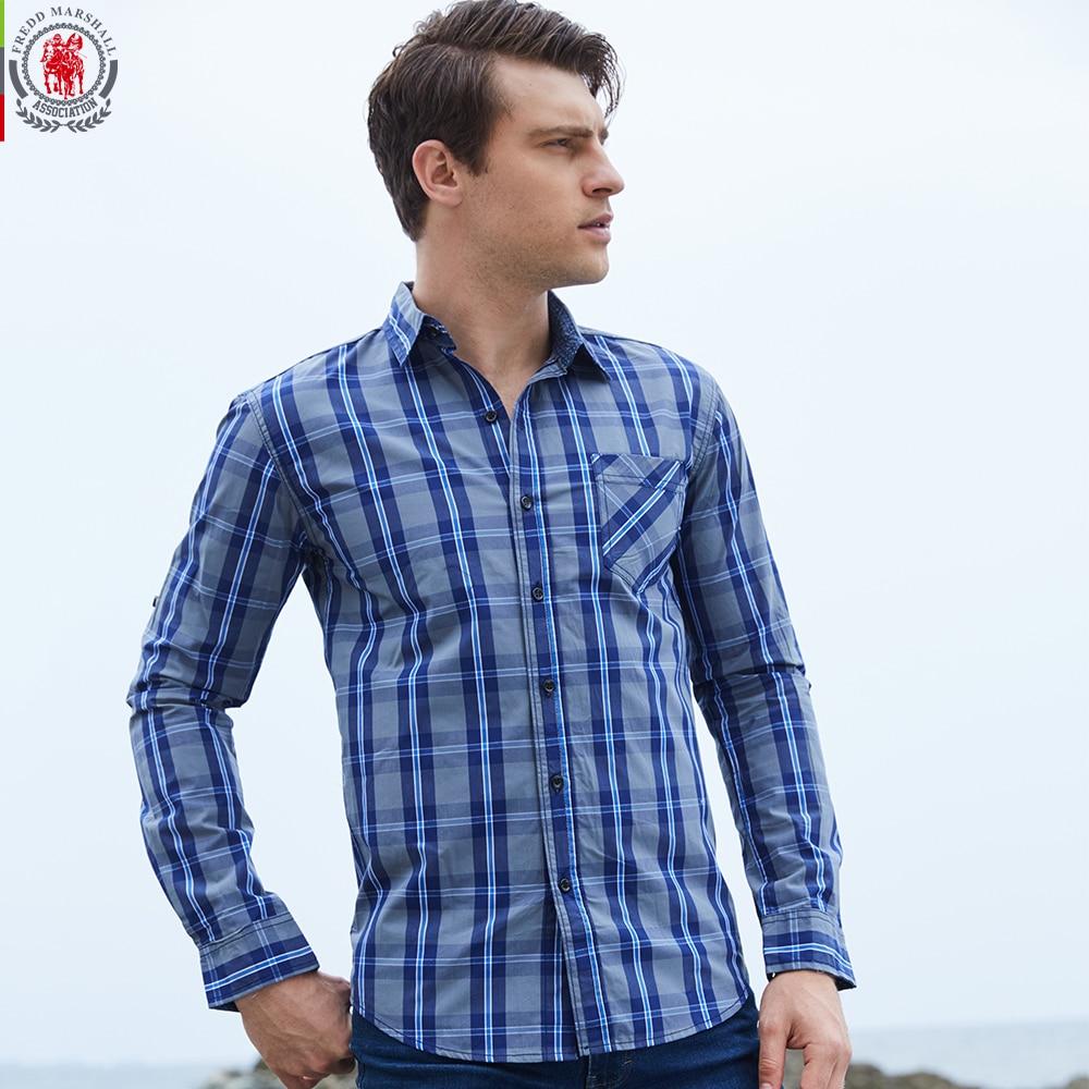 2017 new arrival men 39 s shirt long sleeve plaid shirts mens for Long dress shirts mens