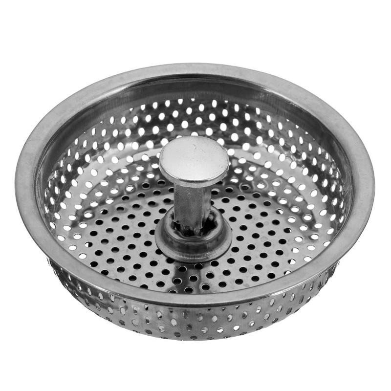 US $1 99 |Garbage Disposal Mesh Kitchen Stainless Steel Sink Strainer Waste  Disposer Plug Drain Stopper Filter-in Kitchen Sinks from Home Improvement