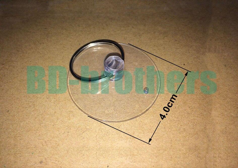 4.0 см присоске + брелок прозрачный softgums присоски haptor купулы Чашки открытие вакуумный Зажимы для телефона 1000 компл./лот