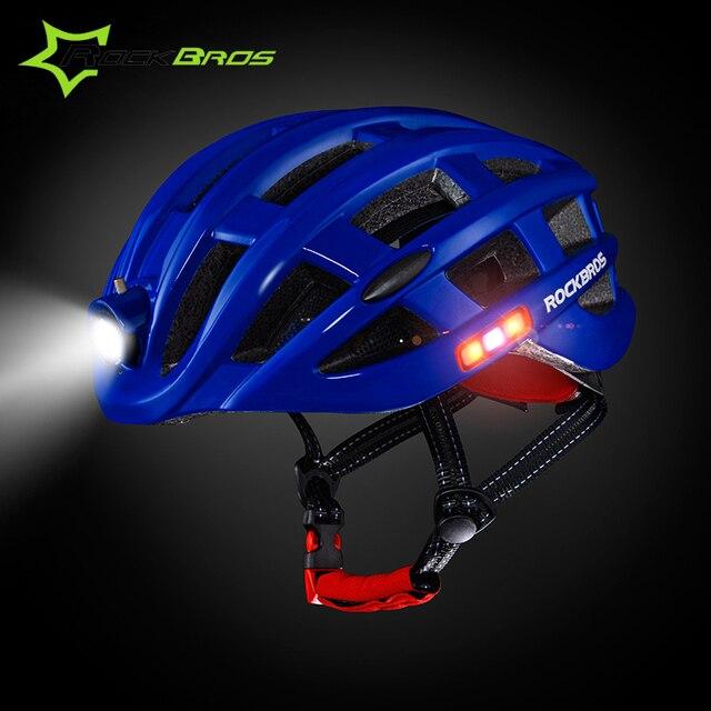 ROCKBROS Mtb Light Bicycle Kask Protone Helmet Motocross Bike Helmet  Outdoor Capacetes Ciclismo Unisex Mtb Night 616e3522c