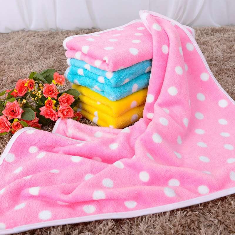 OLN Coral velvet super soft hot selling pet dog blanket quilt cat nest cushion warmth supplies bath towel