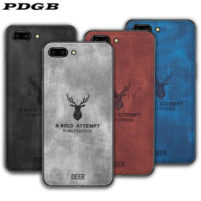 PDGB resistente TPU caso para Xiaomi mi 6 8 A1 A2 Lite 5X 6X Max 2 3 mi x 2s Note 3 Red mi 6A 6 Pro paño patrón cubierta alce ciervo Shell