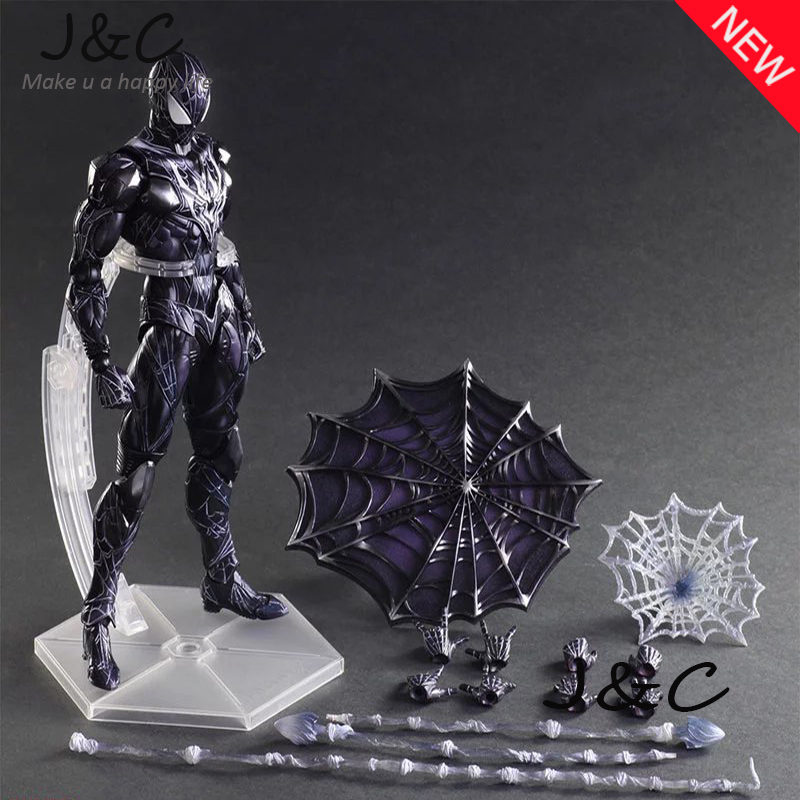 NEW Play Arts Kai PA Thor Figure Super Hero Spider-Man PA 27cm PVC Action Figure Doll Toys Kids Gift Brinquedos super street fighter iv akuma gouki white variant play arts kai action figure