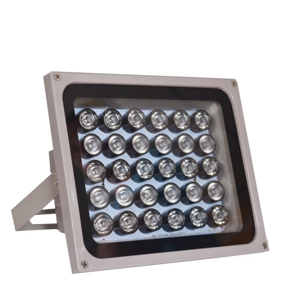 CCTV lumière de remplissage 30 pièces IR infrarouge illuminateur vision nocturne 850nm IP65 métal extérieur étanche CCTV led pour caméra de sécurité