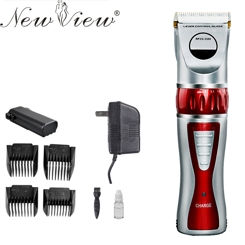NewView Electric Hair Trimmer Rechargeable Hair Clipper Professional Haircut Machine Beard Trimmer Hairclipper Barber Salon newview electric hair trimmer rechargeable hair clipper professional haircut machine barber salon beard trimmer hairclipper