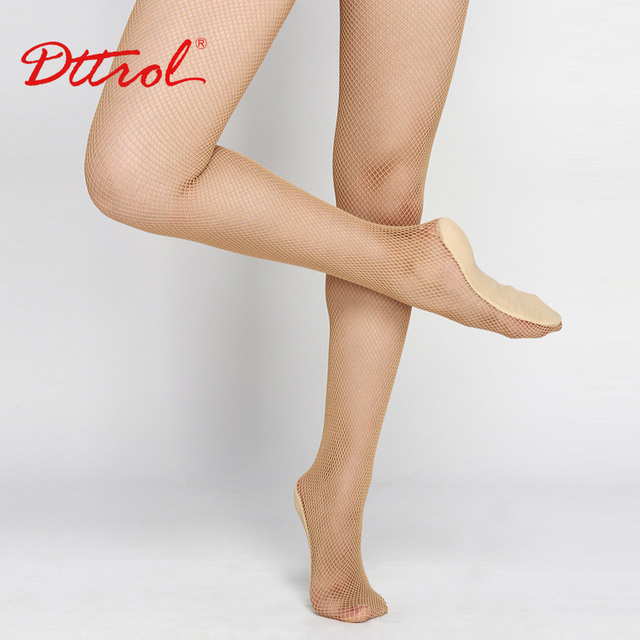 3f8f6411e Brand Girls Ladies Women Professional Fishnet Seamless Tight For Latin    Ballroom Dance Hard Yarn Very