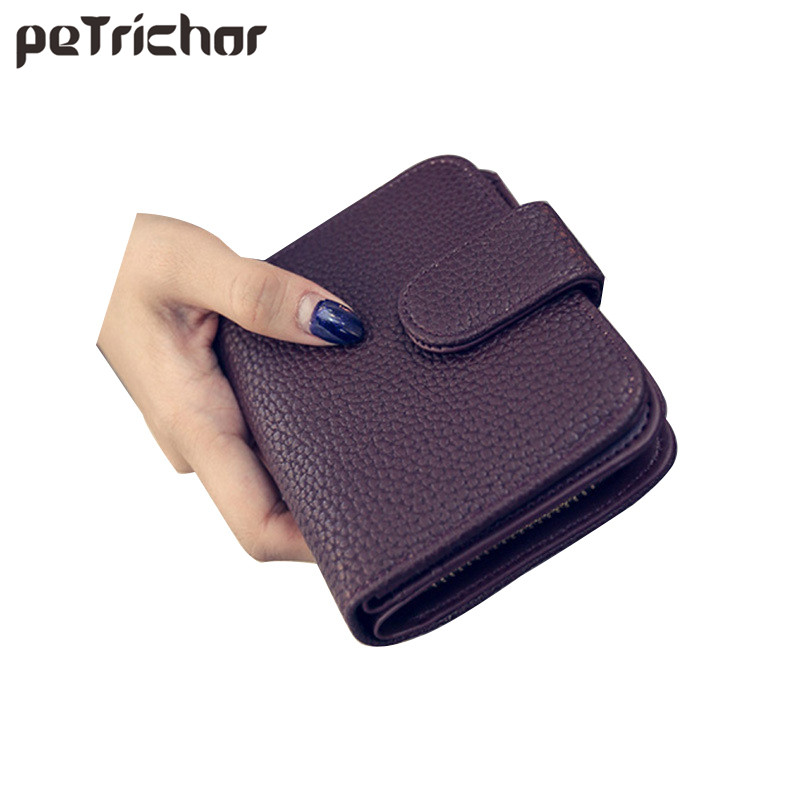 Fashion Women Black Leather Wallet Coin Purse Money Bag Small Wallet and Purse Mini Zipper Hasp Short Lady Purse Crad Holder fashion women leather wallet clutch purse lady short handbag bag women small purse lady money bag zipper luxury brand wallet hot