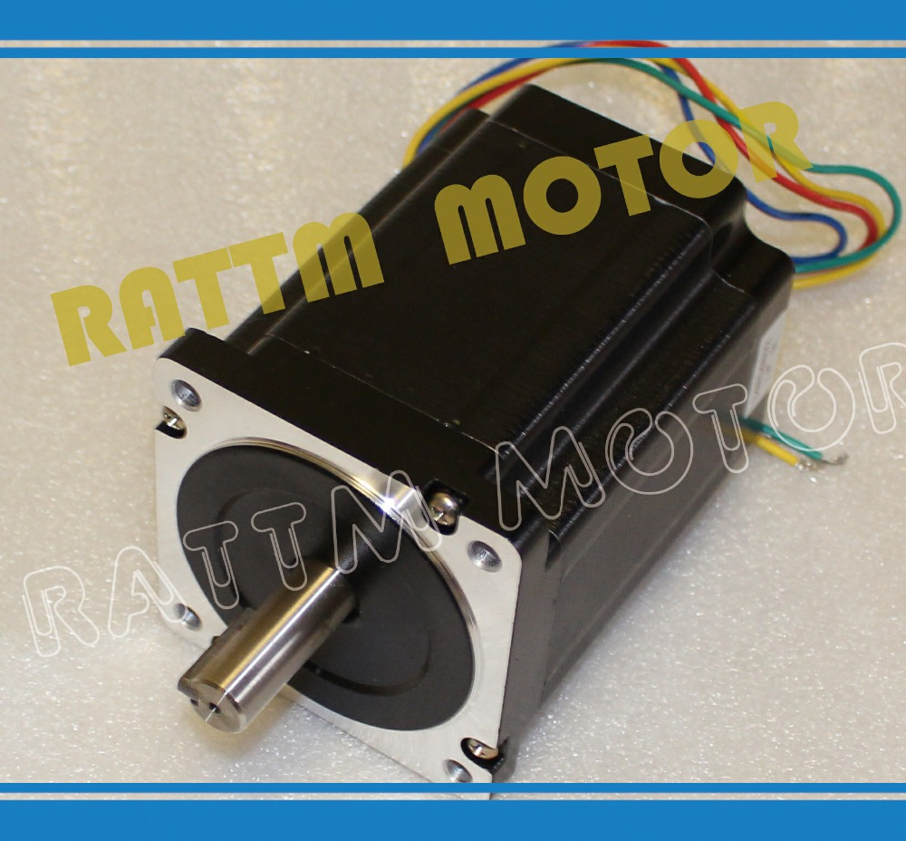 Nema 34 stepper motor 5.0A / 1230oz-in Stepper Motor/116mm for CNC Router/Engravin/milling Machine 4axis nema 34 1230oz in 5 0a stepper motor