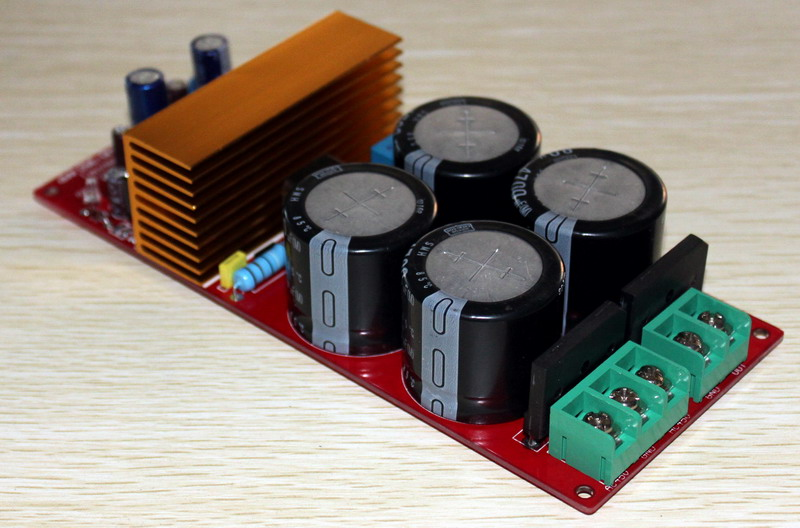 IRS2092 Class D Mono Amplifier Finished Board (Double Rectifier) image