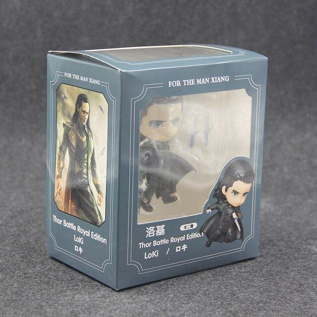 Фигурка Локи 10 см комплект из 2 шт. Marvel нендроид ПВХ 3