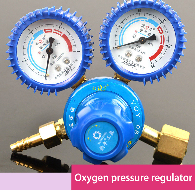Aliexpress.com : Buy shockproof oxygen pressure regulator gas cylinder pressure gauge from Reliable Pressure Regulators suppliers on Delkold ...