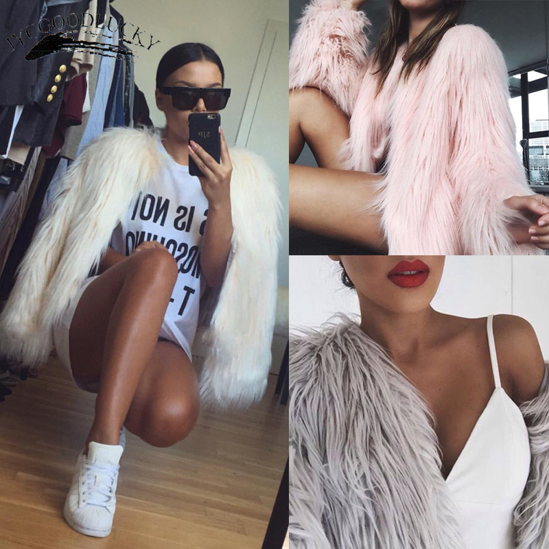 2017 Fashion Fur Coat Winter Warm 2