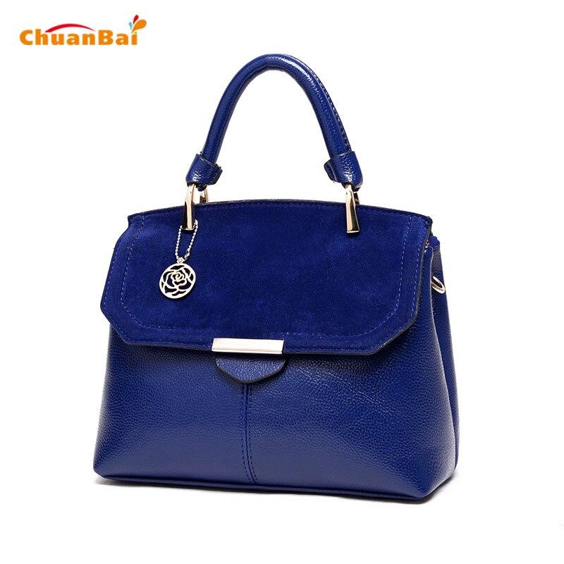 Para mujer Bolsos de Las Mujeres Famosas Marcas de cuero de LA PU Azul Pequeños