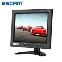ESCAM T08 8 Inch TFT LCD 1024x768 Monitor With VGA HDMI AV BNC USB For PC
