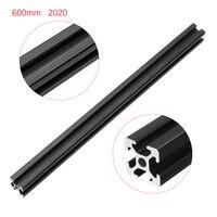 2020 мм длина черный анодированный 600 т-слот алюминиевые профили экструзионная рама для ЧПУ Новый