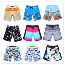 Summer 2019 Big Phantom Beach Board Short Men Polyester Spandex Swimwear Male Bermuda