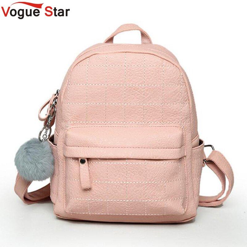 afda0694fb18 mini women backpack lady cute pu leather school backpack fresh bow animal  pink mouse small children teenager bag for girls купить по лучшей цене