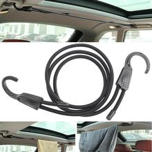 Car Adjustable Elastic Bungee Shock Cord Strap Stretch With Plastic Hook Car Luggage Tent Kayak Boat Canoe Bikes Rope Tie