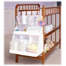 Good Quality Baby Bed Hanging Storage Bag Infant Diaper Toy Holder Cot Newborn Crib Organizer Bedding