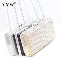Silver Flower Crystal Evening Bag Clutch Bags Clutches Wedding Purse Rhinestones Wedding Handbags Gold Evening Bag Bolsos Mujer