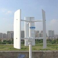 Новый вертикальный ветряной генератор 600 Вт 12 В в В 24 48 В 3 фазы с лезвиями предназначен для дома или уличных проектов