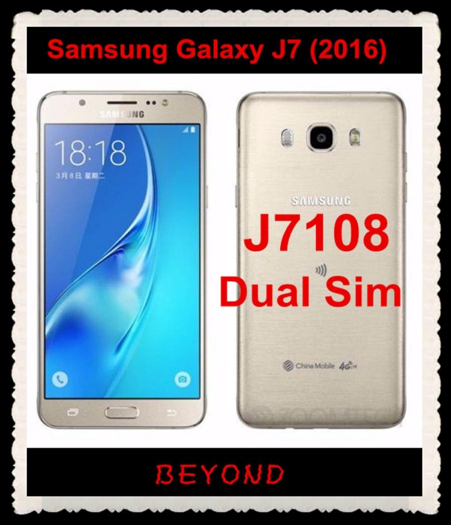 Samsung Galaxy J7 2016 J7108 Original Unlocked 4G LTE ...