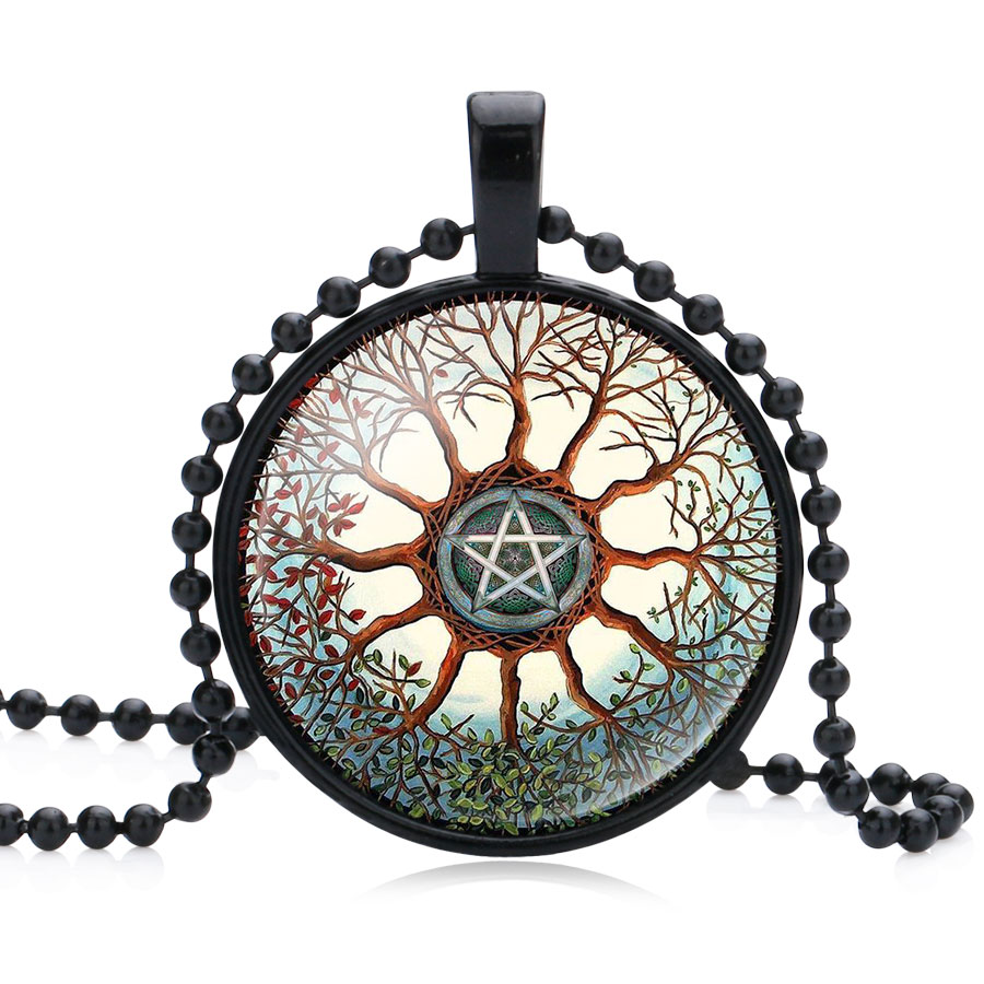 Ningxiang occult satanic star symbols the inverted star signs ningxiang occult satanic star symbols the inverted star signs inverted pentagram satanic pentagram glass maxi necklace jewelry in pendant necklaces from biocorpaavc Choice Image