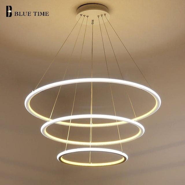 Aliexpress.com : Neue Moderne 3 Kreis ringe LED Pendelleuchten Für ...