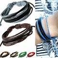 Regalos de navidad Pulseras y brazaletes de la joyería para las mujeres de Bohemia Pulsera de Cuero pulseras pulseira masculina feminina Aliexpress