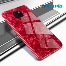 Case For Huawei Mate 20 Pro Luxury Bling Shell Soft Edge Tempered Glass Nova 510 P30 P20 Lite Cover Coque