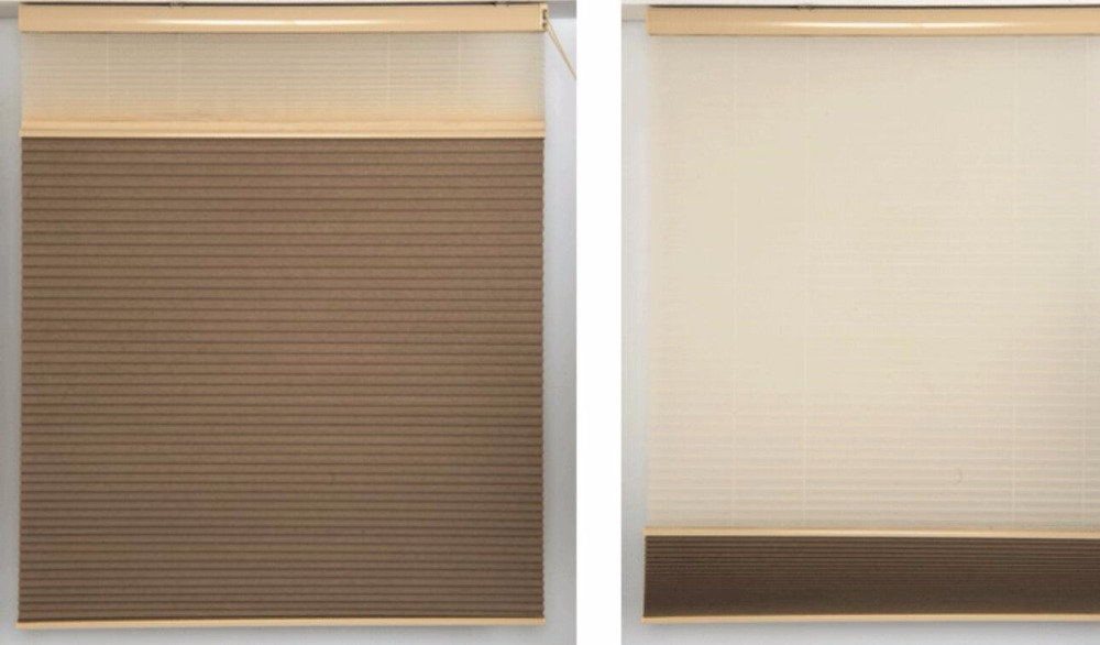 Day Night Dual Cellular Honeycomb Blinds Shadestop down bottom up