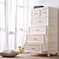 Настольный шкаф коробка для хранения чехол для ювелирных изделий держатель ящики 5 ящиков Органайзер большой ящик для хранения organizador пласт