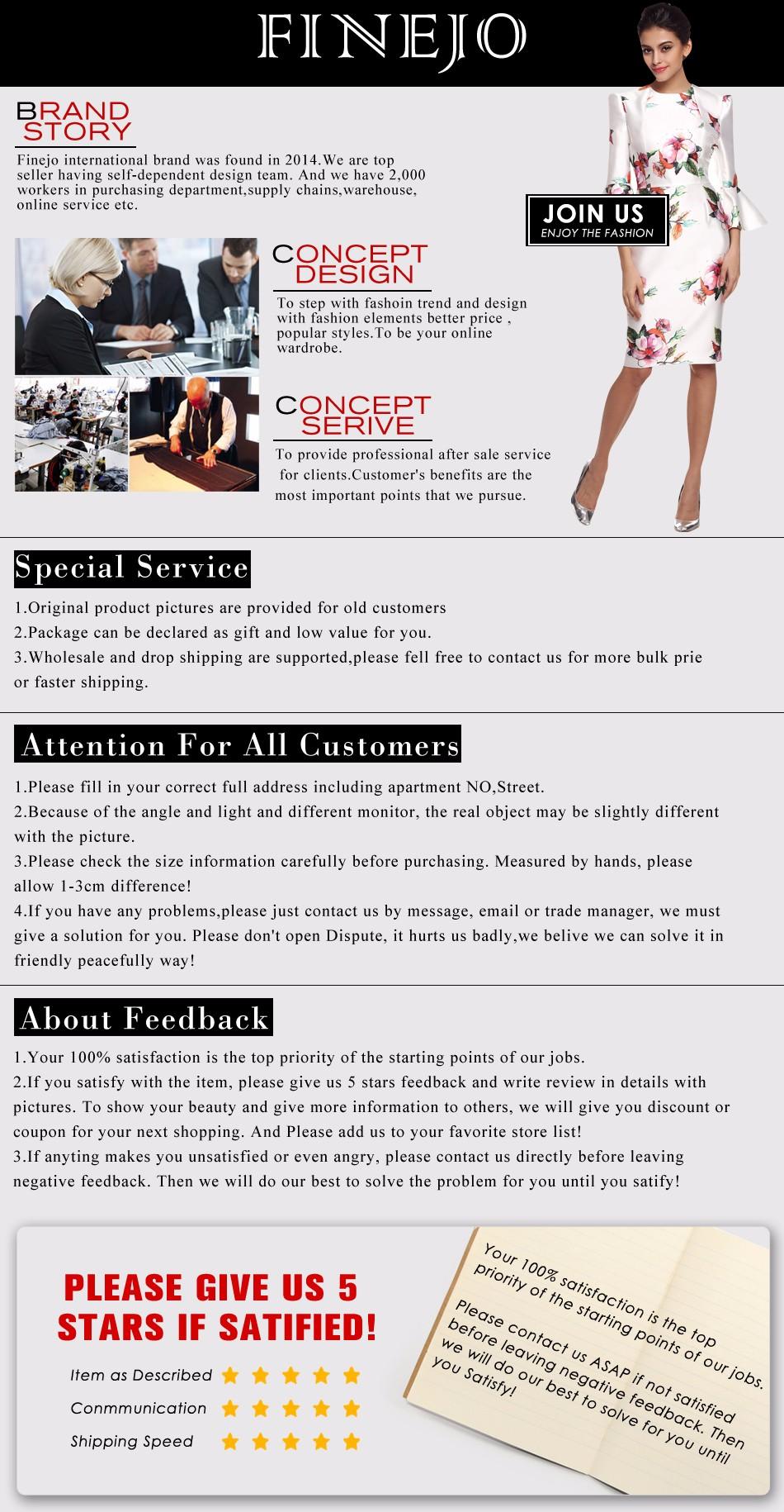 FINEJO Brand Service