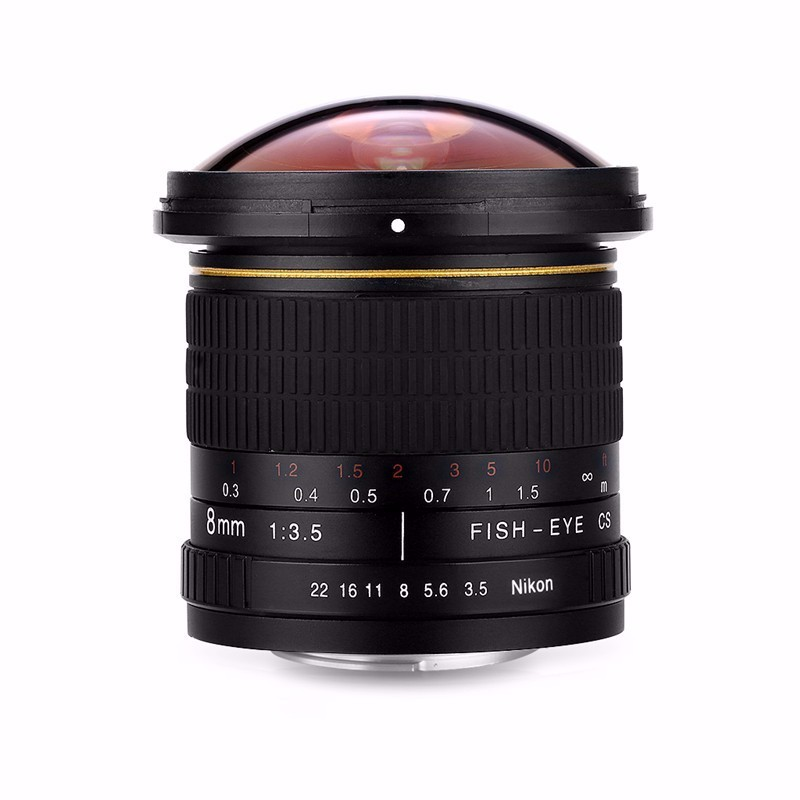 8mm F/3.5 Ultra Wide Angle Fisheye Lens for APS-C/ Full Frame Nikon D800 D700 D30 D50 D5500 D7000 D70 D90 D3 DSLR Camera 13