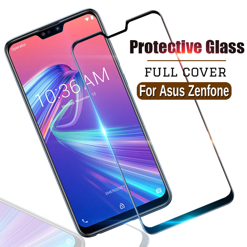 Tempered Glass For Asus Zenfone max pro M2 ZB631K ZB633KL M1 ZB601KL ZB555KL 5 ZE620KL 4 <font><b>ZC</b></font> <font><b>520</b></font> 554 <font><b>KL</b></font> plus ZB570TL protect case image