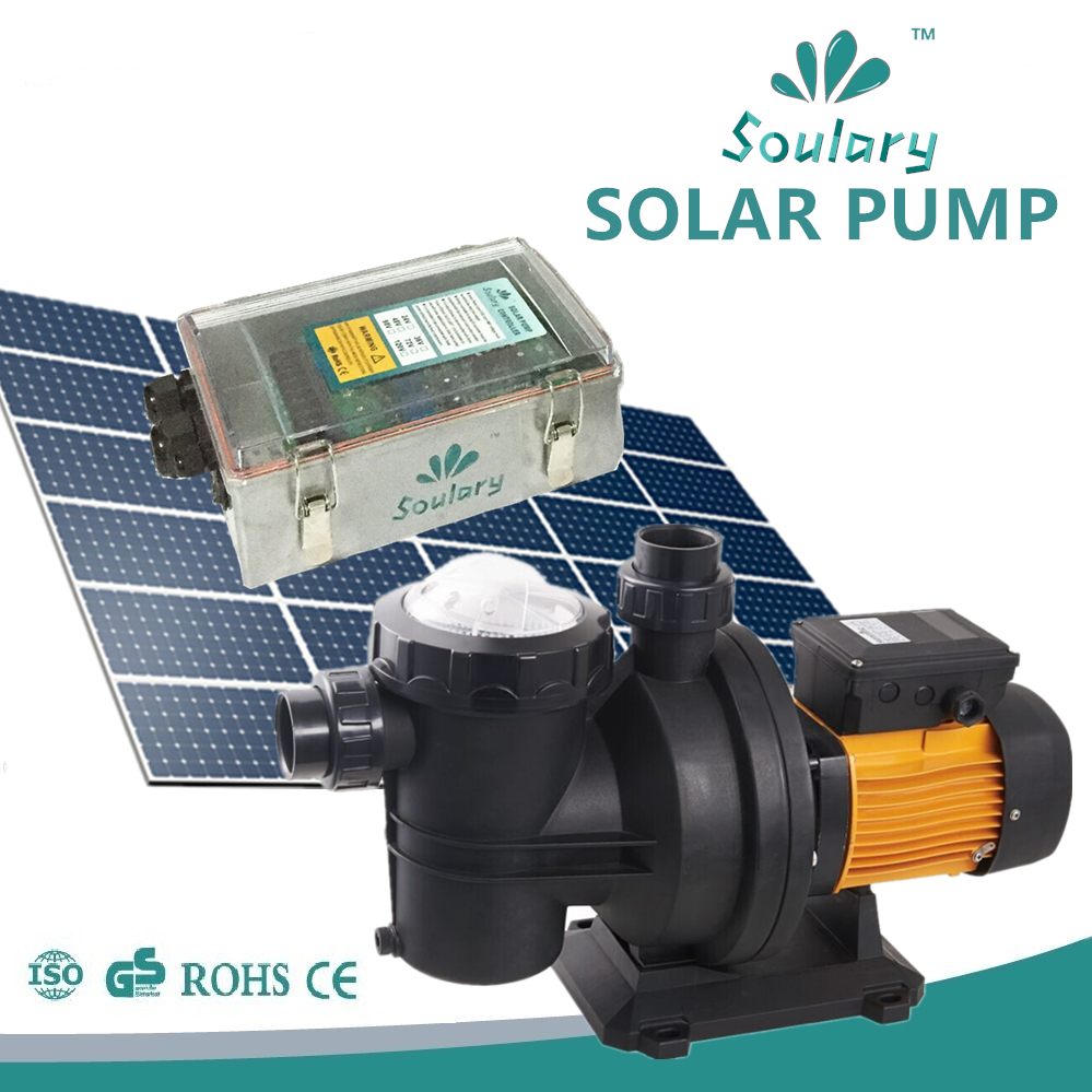 Dhl Free Shipping Dc Solar Pool Pumps For Swimming Pool Model Sjp21 19 D72 750 In Pumps