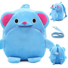 Animal Design Harness Baby Kids Backpack with Leash Toddler Waterproof Backpack with Safe Harness 6 Colors nohoo preschool kids animal backpack cute rabbit lunch box toddler harness leash backpack 2 7 years old medium