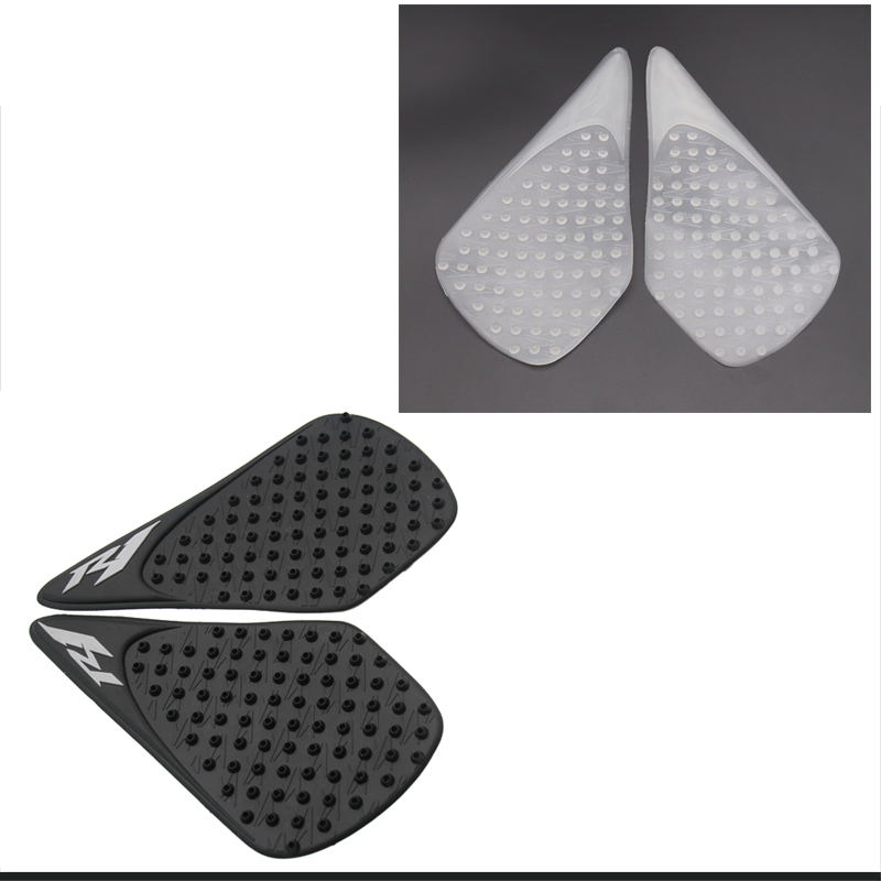 Yamaha YZF R1 2007 2008 Black Gas Tank Pad Traction Side Fuel Grips Decals Protector 3M