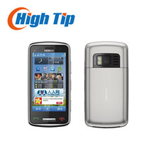 Original nokia c6-01 mobile telefon refurbished kapazitiven touchscreen kamera 8.0mp entsperrt c6-01 handy freies verschiffen
