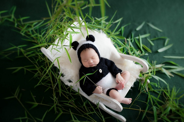 Newborn Photography Props Chair Baby Photo Baby Hundred Days Children Photography Creative Rocking Chair Props