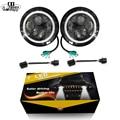CO LIGHT 2pcs 7 Inch Led Driving Light 50W 30W H4 H13 LED Car Headlight Kit Auto for Jeep Led Head Lamp Bulbs Dipped & High Beam