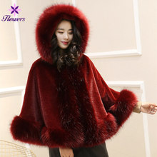 f4261fd1179 Buy fur poncho and get free shipping on AliExpress.com