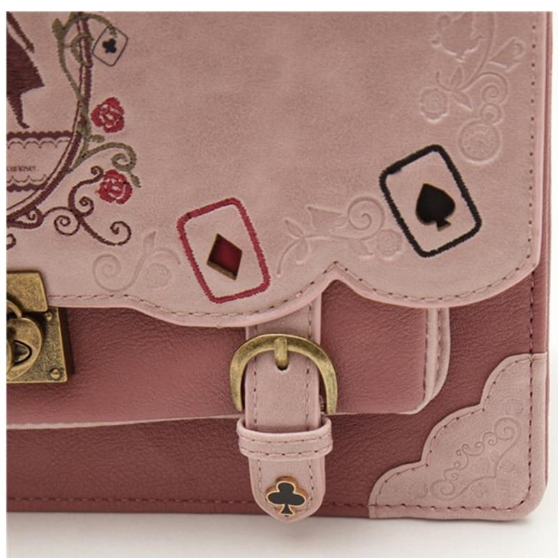 HTB1tgKWayLrK1Rjy1zdq6ynnpXab Buyuwant women backpack girl Alice bag in Wonderland school backpack bag women shoulder bag sac a dos Mochila bolsos